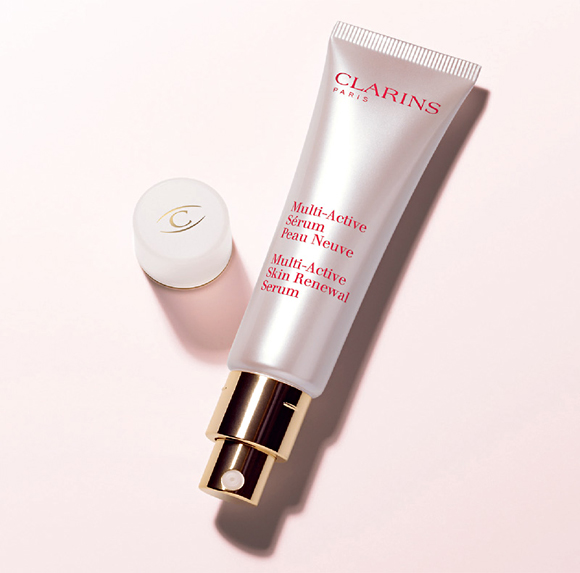 Clarins multi active jour et nuit for Portent nick knight
