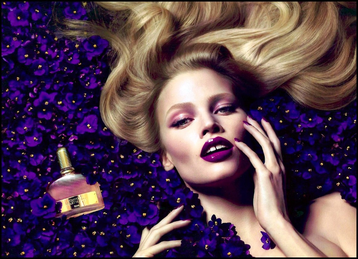 Tom ford violet blonde for Portent nick knight